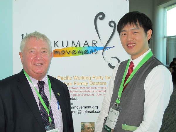 Seen at the conference in Kuching, Malaysia in May 2015, with then Rajakumar chair, Shin Yoshida.