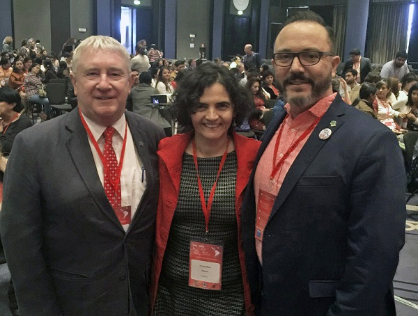 Seen back in September 2017 with current Iberoamericana President and CEO, Jaqueline Ponzo and Thomas Meoño Martin