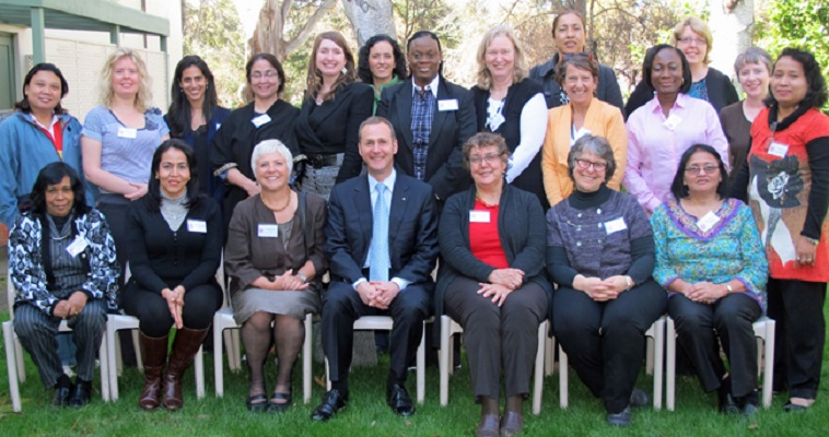 More sedate was the WP on Women meeting in Canberra, Australia 2012, with Michael Kidd in attendance.